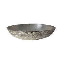Light & Living Schale ESBJERG M aus Metall roh nickel